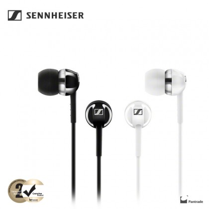Sennheiser CX 1.00 Bass Driven Wired In-ear Earphones ( White / Black )