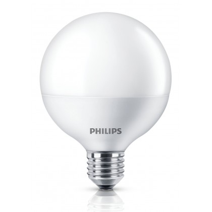 PHILIPS 10.5W (85W) E27 Cool daylight Frosted Globe